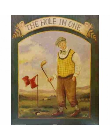 Golfeur/ the hole in one