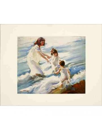 Les jeunes filles et la mer
