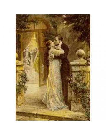 couple dansant sur la terasse
