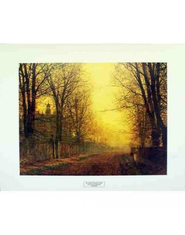 L'automne la gloire de l'or