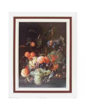 Nature morte Fleurs et fruits 1