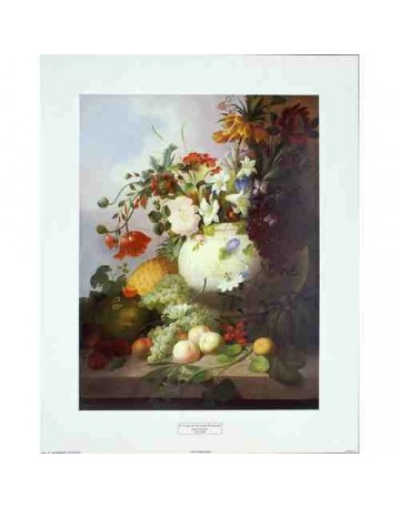 Vase de fleurs d'été