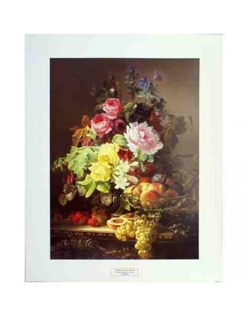 Nature morte des roses