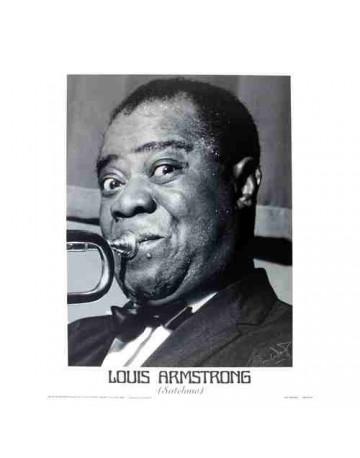 Photographie Noir et Blanche  Louis Armstrong