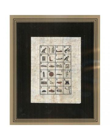 L'alphabet hiéroglyphe