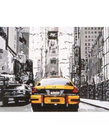 New York : taxi jaune